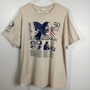 Selma to Montgomery March 50th Anniversary Tee
